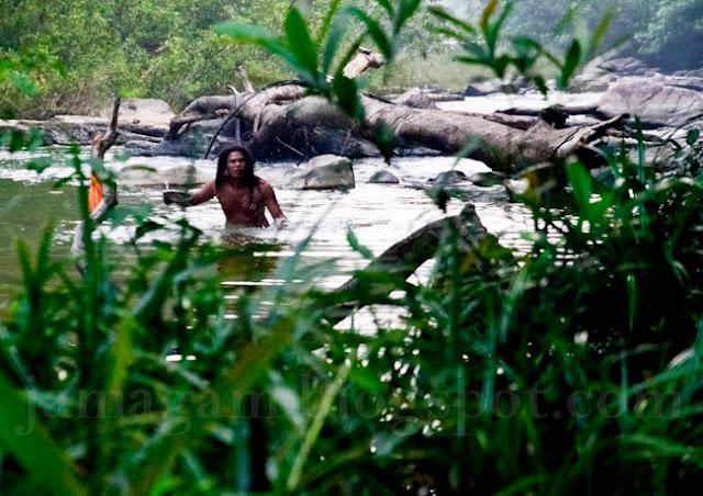 Kembara Malaysia mengendap orang asli mandi !