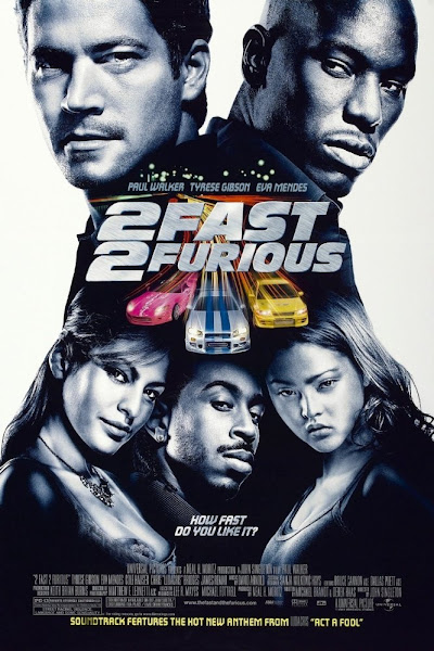 Poster of 2 Fast 2 Furious 2003 Dual Audio 720p Hindi BluRay With ESubs Download