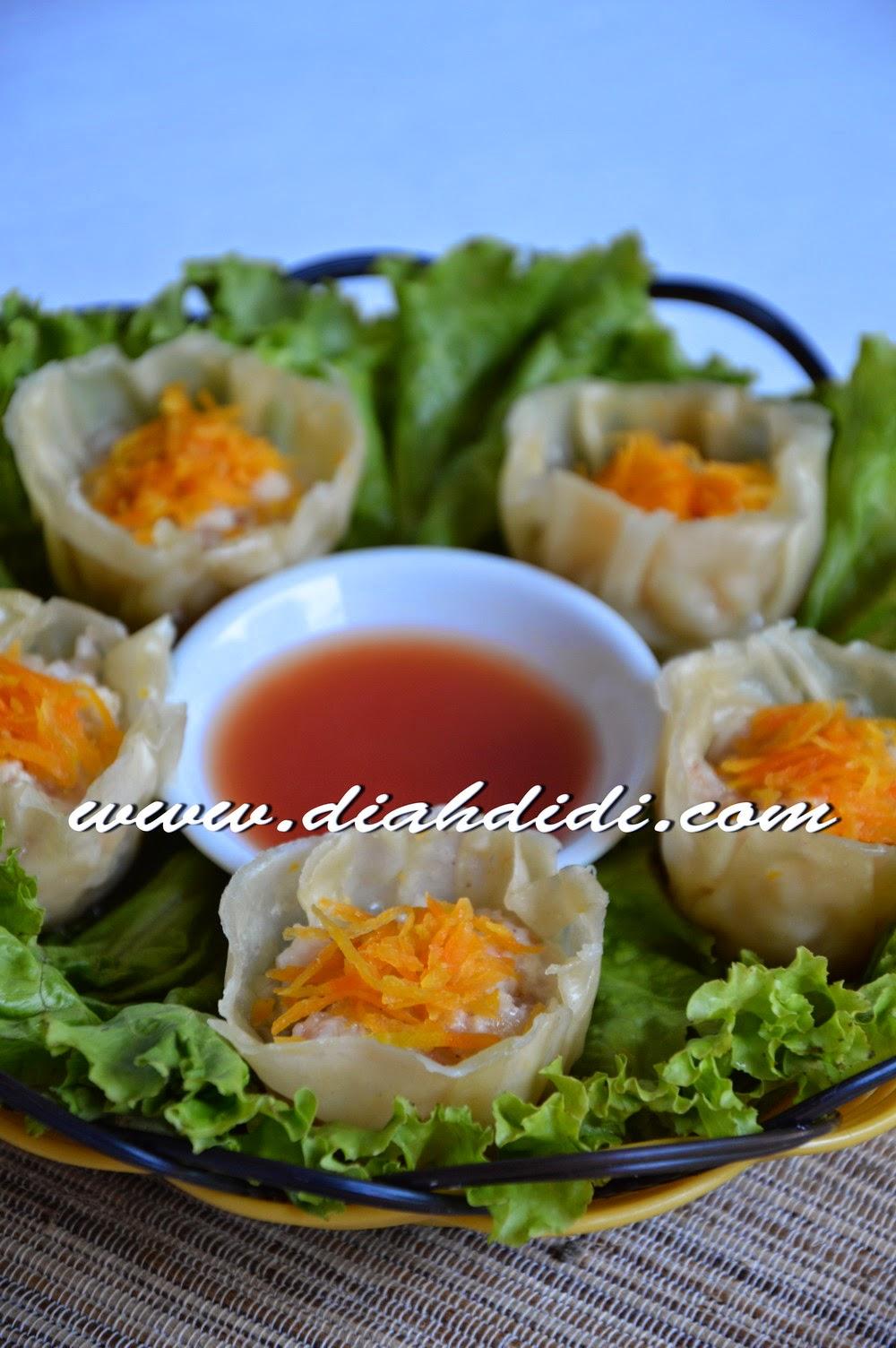 Diah Didis Kitchen Siomay Udang Ayam Ala Resto