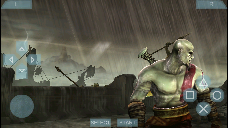 Android games god of war 3