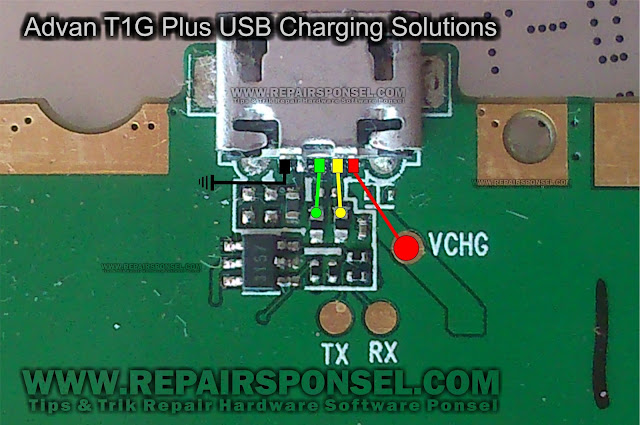 Advan T1G Plus USB Charging Solutions