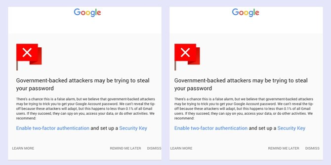 Google: 1 million Gmail account so hackers target payment of