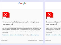 Google: 1 million Gmail account so hackers target payment of government