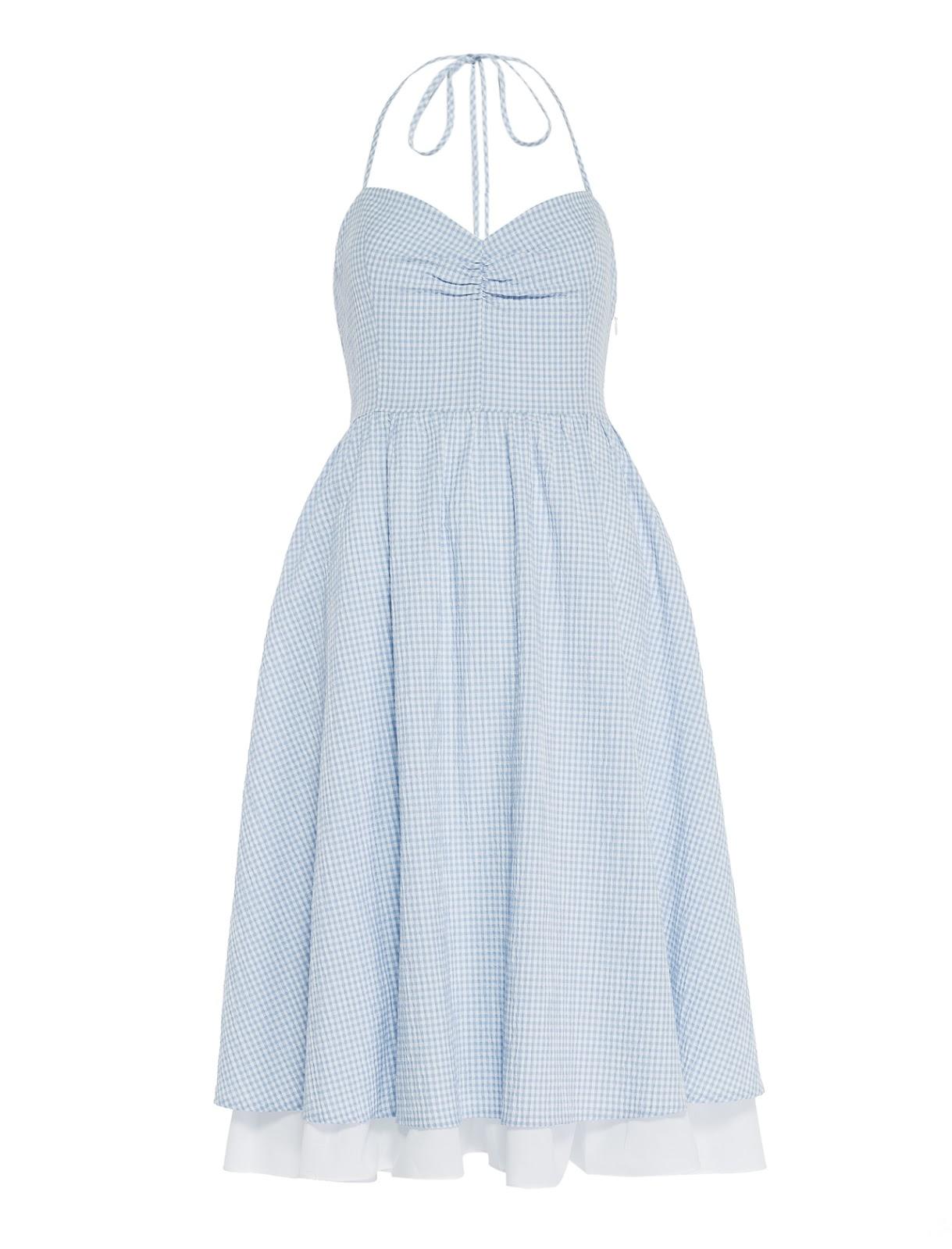 8e35712d28c74 Koton 2016 İlkbahar- Yaz Ole Koleksiyonu'nda anahtar parçalar,iri volanlı  açık omuzlu bluzlar, yüksek belli jean şortlar, pötikare elbiseler, volanlı  'crop' ...