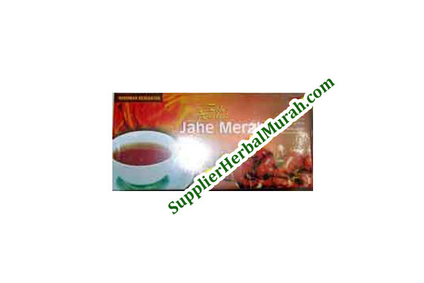 Teh Celup Herbal Jahe Merah