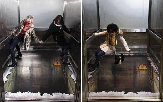 bentuk dan desain lift yang unik lucu dan kreatif-3
