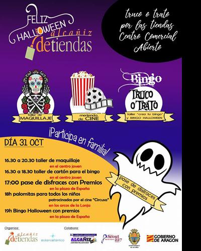 Halloween en Alcañiz Detiendas