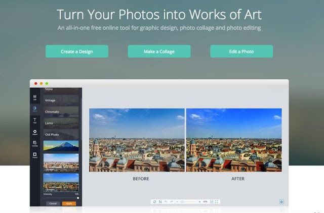 Online Graphic Tricks for Photo Editing, Graphic Design and Photo Collage