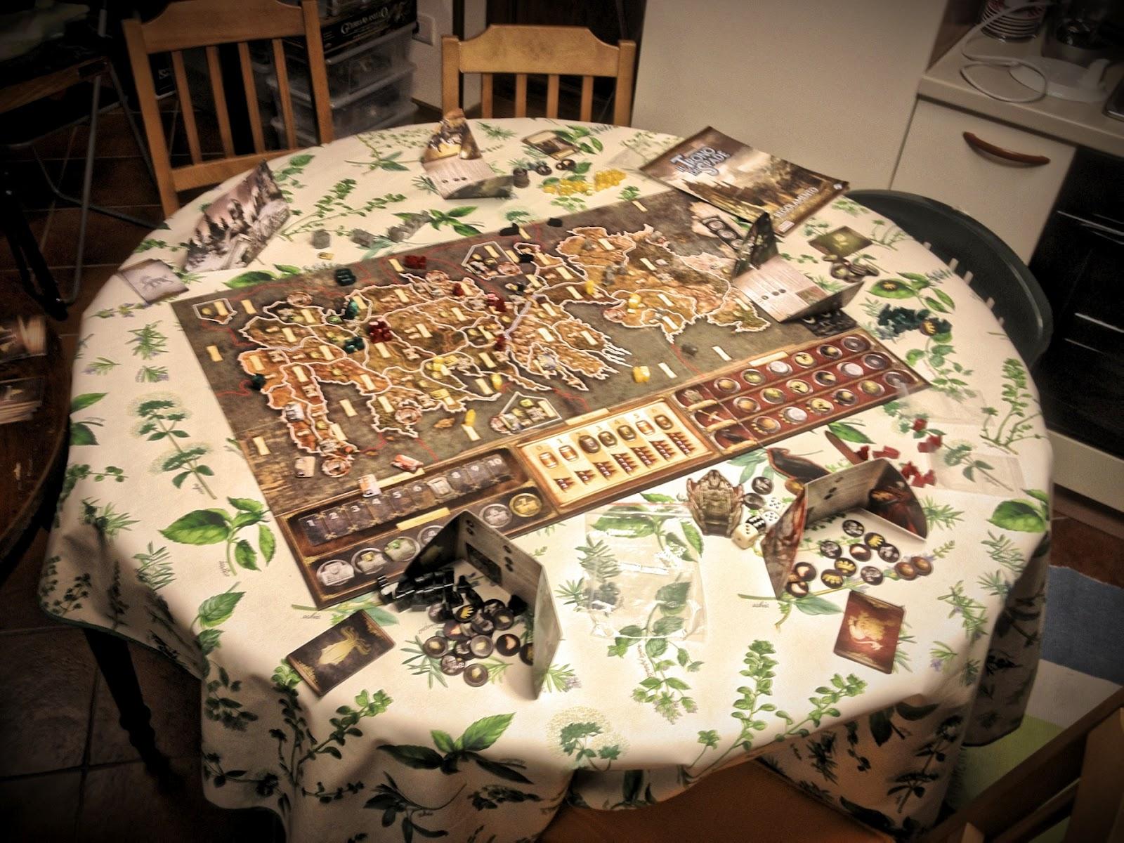 A che si gioca il trono di spade 1 - Trono di spade gioco da tavolo ...