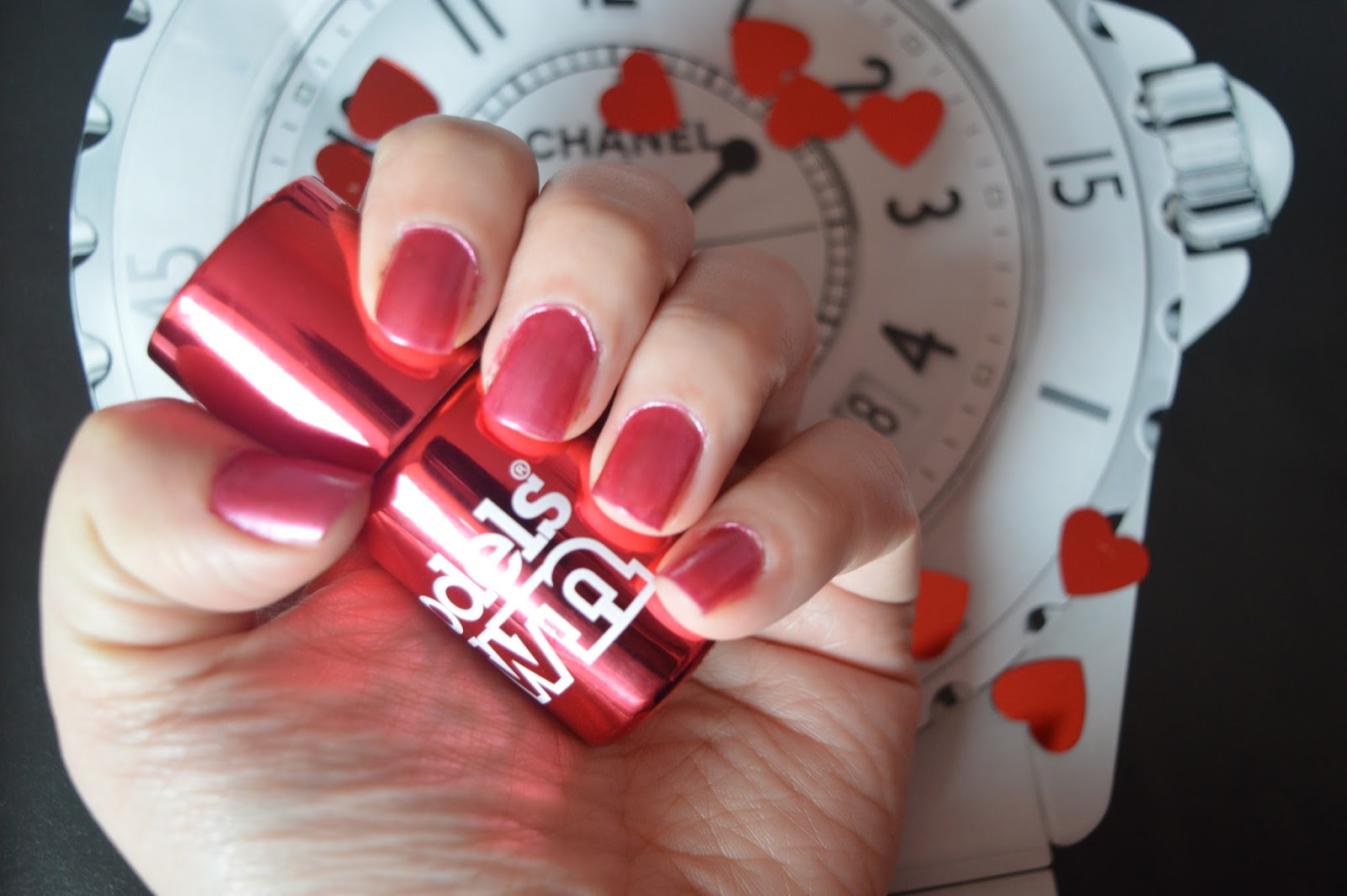 models own chrome red review
