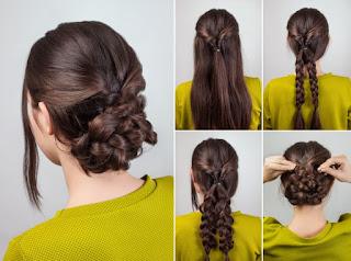 peinado hermoso en segundos con tu cabello