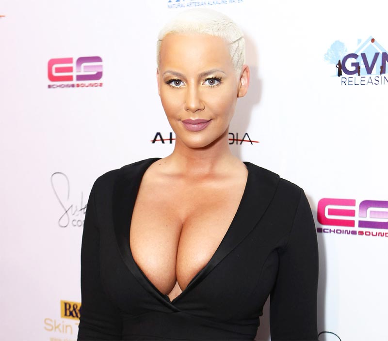 I'm not trying it again - Amber Rose describes her first threesome