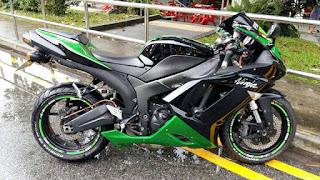 Juragan MOGE BEKAS: Kawasaki ZX636 Tahun 2008 - JOGJA