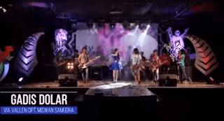 Lirik Lagu Gadis Dolar - Via Vallen
