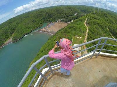 Lokasi Pantai Baron Gunung Kidul Jogjakarta