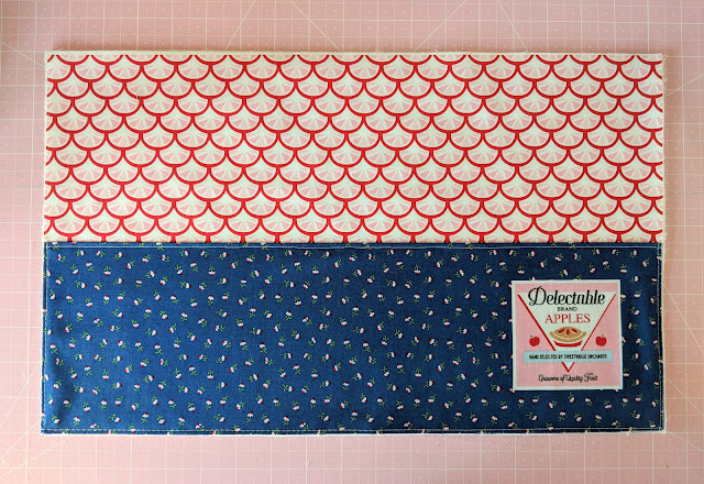 Shortcake Patio Placemat Tutorial by Heidi Staples of Fabric Mutt for Riley Blake Designs