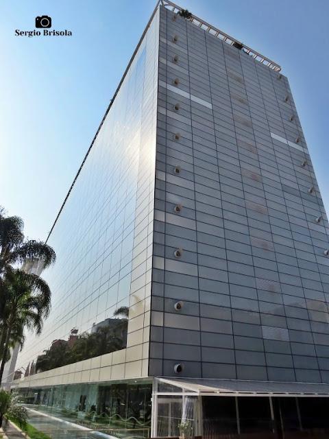 Vista ampla do prédio da Porto Seguro - Sucursal Campos Elíseos - São Paulo