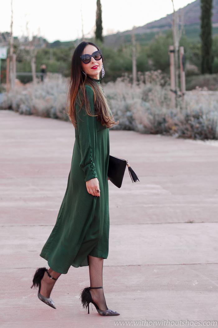 como combinar vestido de Zara para un dia especial