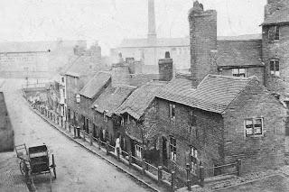 Las calles de Birmingham en el siglo XIX