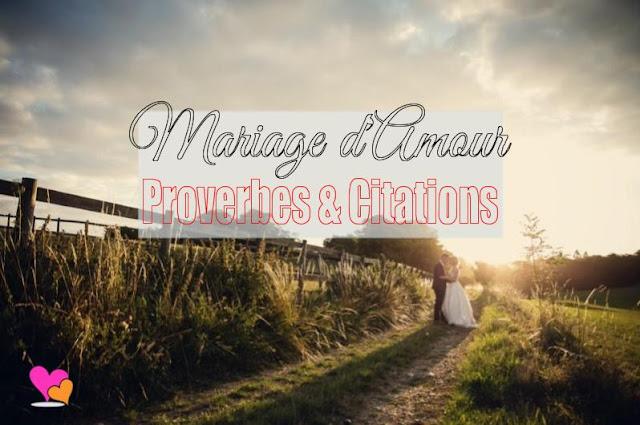 Sujet sur le mariage d'amour