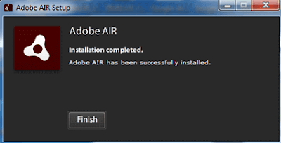 Download adobe AIR latest vesion