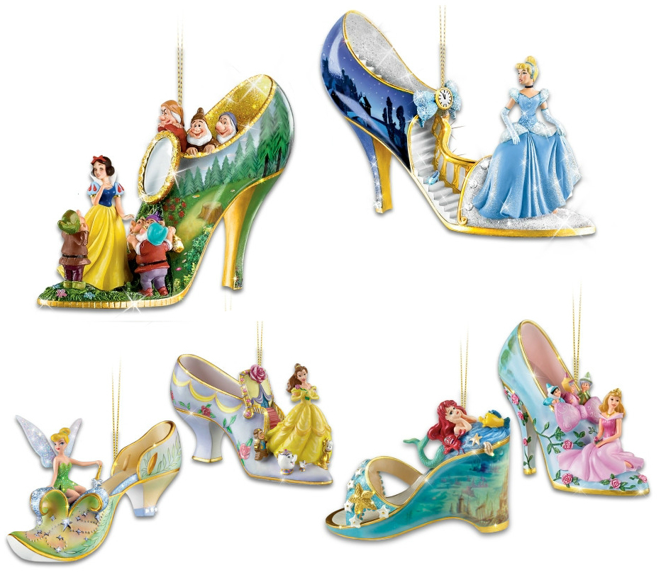 Disney Princess Shoe Ornaments Uk