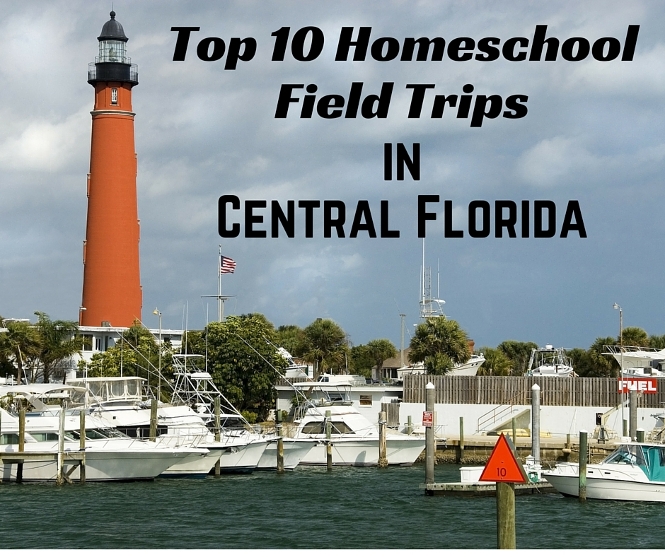 If you live in, or are visiting, Central Florida, you'll want to take a look at this list of the 10 best homeschool field trip ideas for Central Florida homeschoolers.