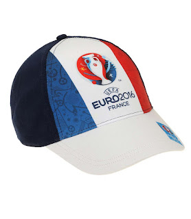 100% Cotton HAT CAP £4.36, UEFA EURO 2016 Boys Baseball cap 2016 Collection – blue