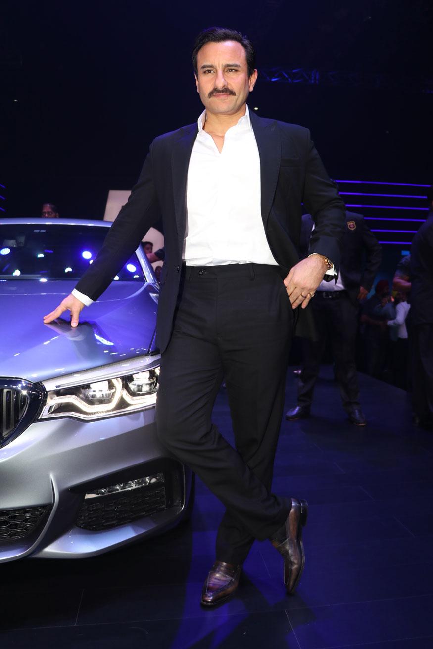 Esha Gupta and Vikram Pawah at The Launch of BMW 5 Series In Mumbai