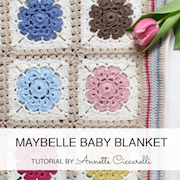 http://myrosevalley.blogspot.ch/2016/04/maybelle-baby-blanket-pattern.html