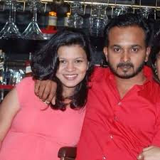 Kedar With Gorgeous Wife Snehal