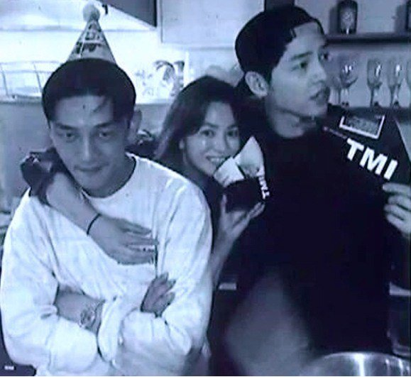 Song Hye Kyo Has Joong Ki Yoo Ah In Wrapped Her Arms
