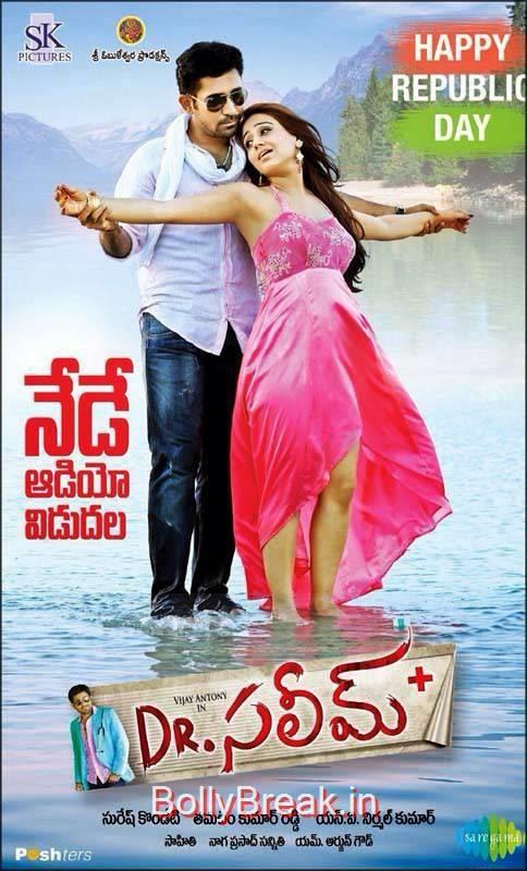 Vijay Antony-Dr.Saleem Telugu Movie Wallpapers, Hot Pics of Aksha In Dr.Saleem Movie