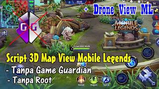 Cara Merubah Map Mobile Legends Menjadi 3D View Tanpa Game Guardian