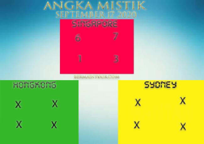 Kode syair Singapore Kamis 17 September 2020 238