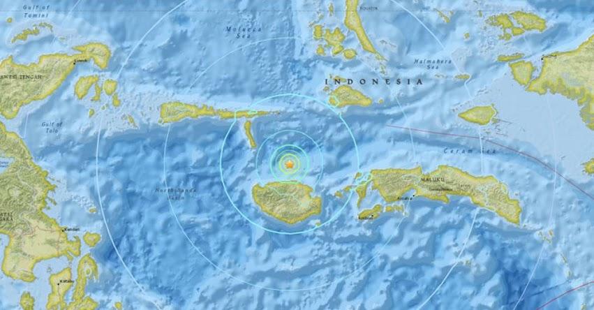 TERREMOTO EN INDONESIA de Magnitud 6.1 - Alerta de Tsunami (Hoy Lunes 26 Febrero 2018) Sismo Temblor EPICENTRO - Airbuaya - Islas Molucas - USGS