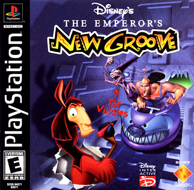 descargar disney's  the emperor's new groove party psx mega