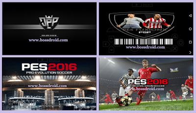 Kumpulan Game PES 2016-2017 PPSSPP PSP ISO Android DATA