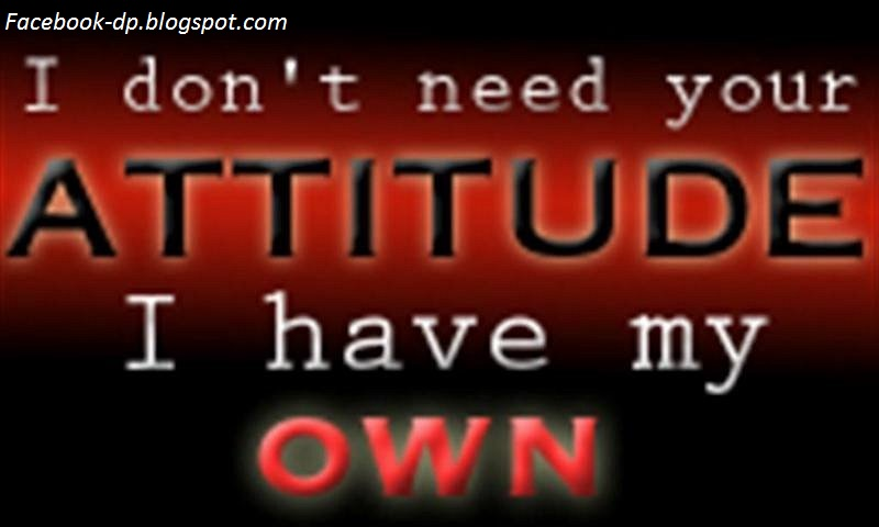 Attitude Quotes For Fb Dps Facebook Dp Boys Attitude Quotes Free