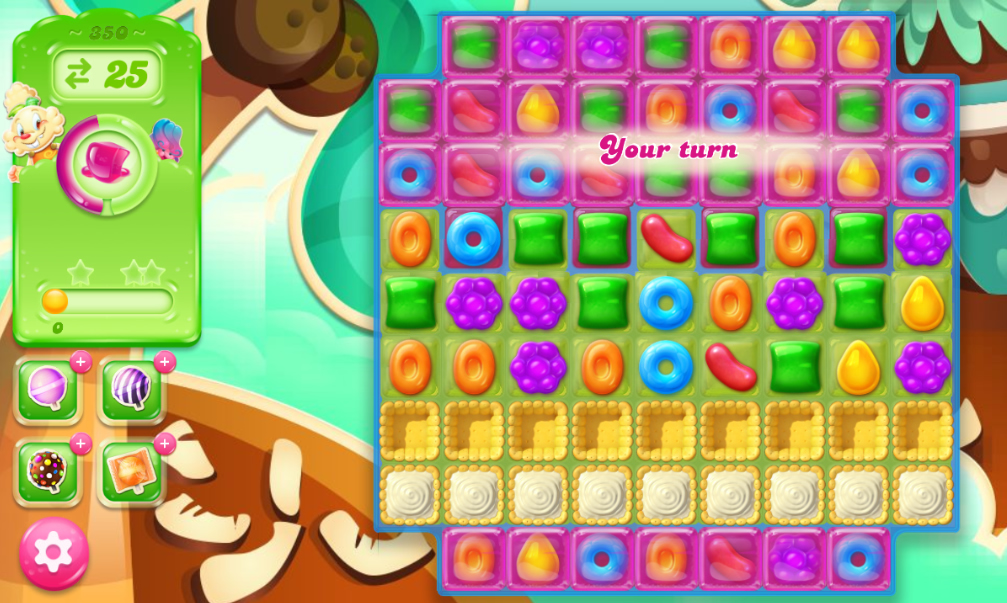 Candy Crush Jelly Saga 350