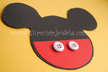 Director Jewels Mickey Mouse Clubhouse DIY Birthday Party Invitations Tutorial
