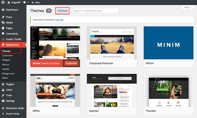 Ribbon Wordpress Theme Free Download