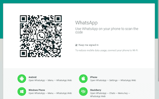 Screenshoot whatsapp web