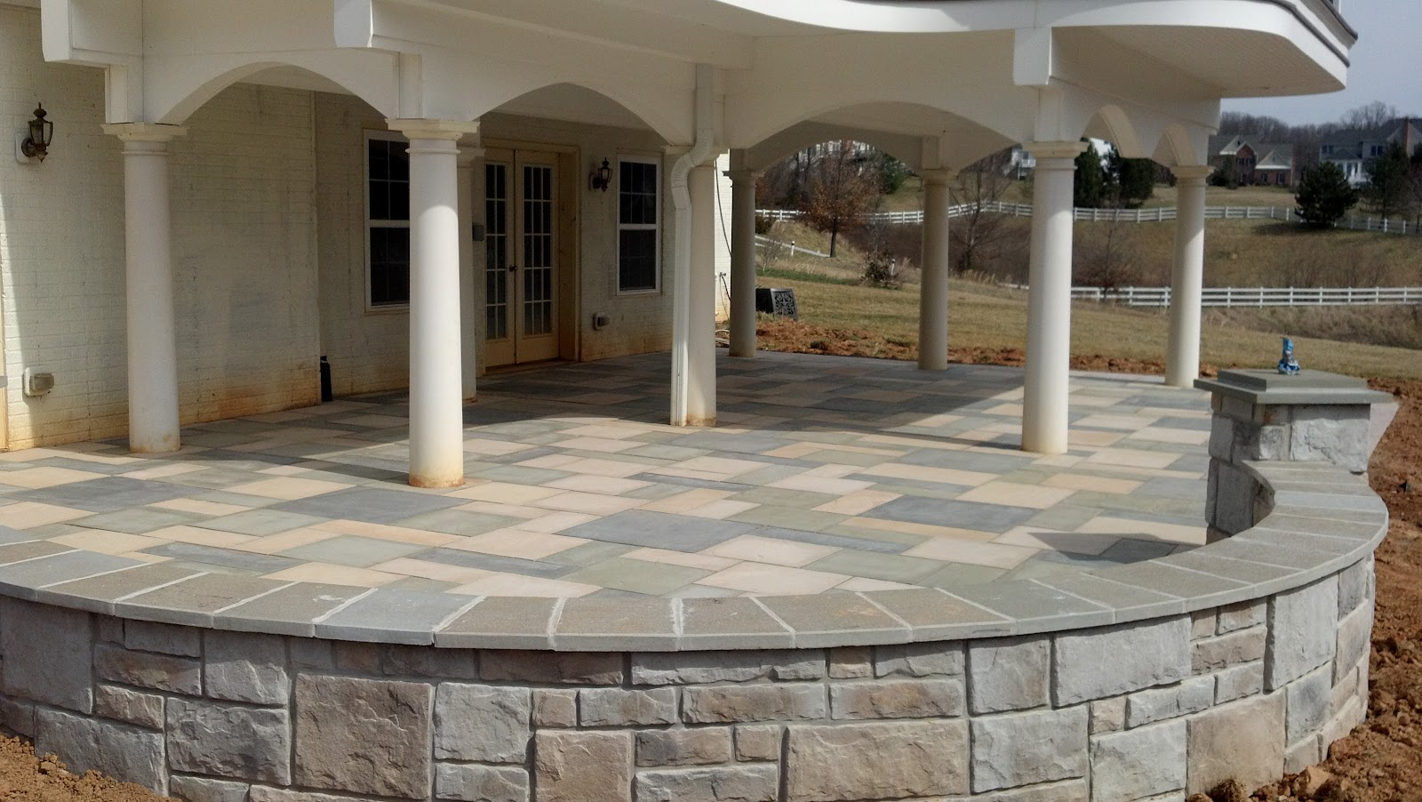 Gravel Lok Life Time Pavers: Aberdeen Slab Pavers By Techo-bloc
