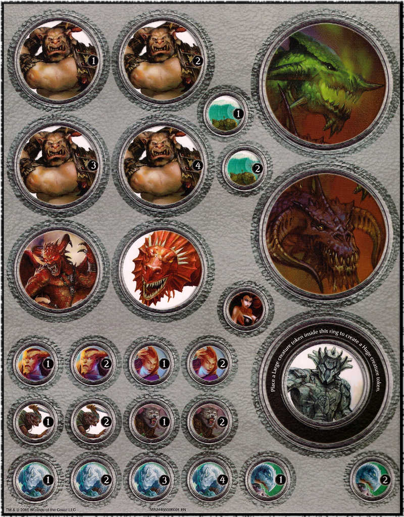Sassy image in d&d printable tokens