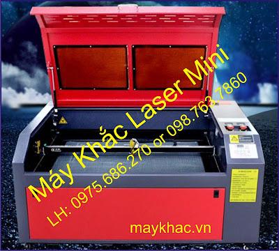 May khac laser 10