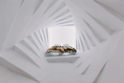Los Hoteles más extraños de mundo, el hotel de hielo habitaciones nuevas cada año