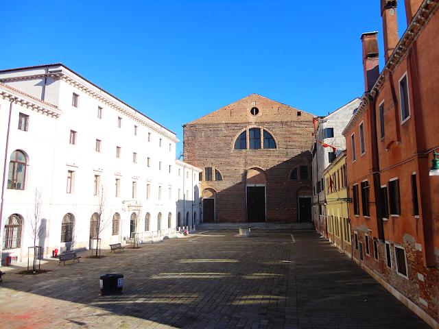 693 let od smrti cestovatele Marca Pola, kam v Benátkách, Benátky průvodce, zajímavosti benátky, co vidět v Benátkách, benátky památky, Marco Polo, kostel San Lorenzo