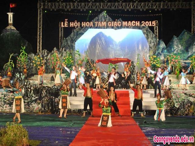 Khai mạc Lễ hội hoa Tam Giác Mạch Hà Giang năm 2018