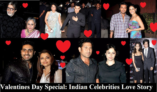Valentines Day Special,Indian Celebrities Love Story